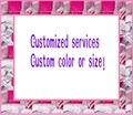 Extra custom-made fee for custom-made size or color extra money for tailor made