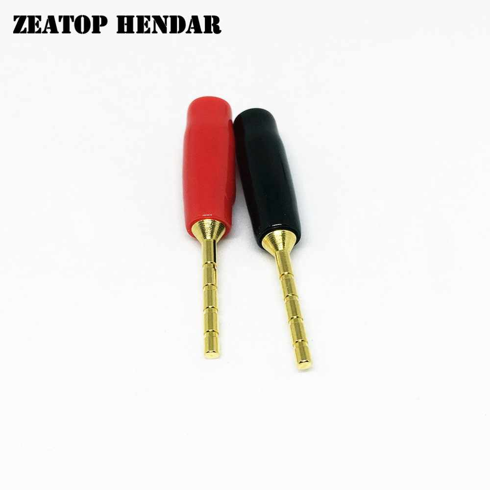 small resolution of 20pcs 2mm banana plug screw terminal gold plated copper amp wiring pin plug small banana plug