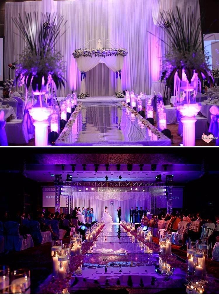 10м / ролл Luxury Wedding Centerpieces Алтын күміс - Мерекелік және кешкі заттар - фото 5