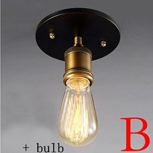 B style with bulb