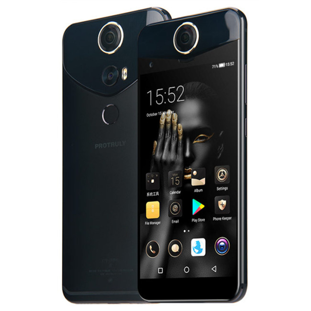 PROTRULY Chéri V10S 4g + 64g ROM Snapdragon 625 2.0 ghz Octa base 5.5 Écran FHD VR panoramique Caméra Android 4g LTE Smartphone