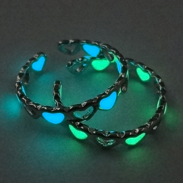 Heart Shape Luminous Ring