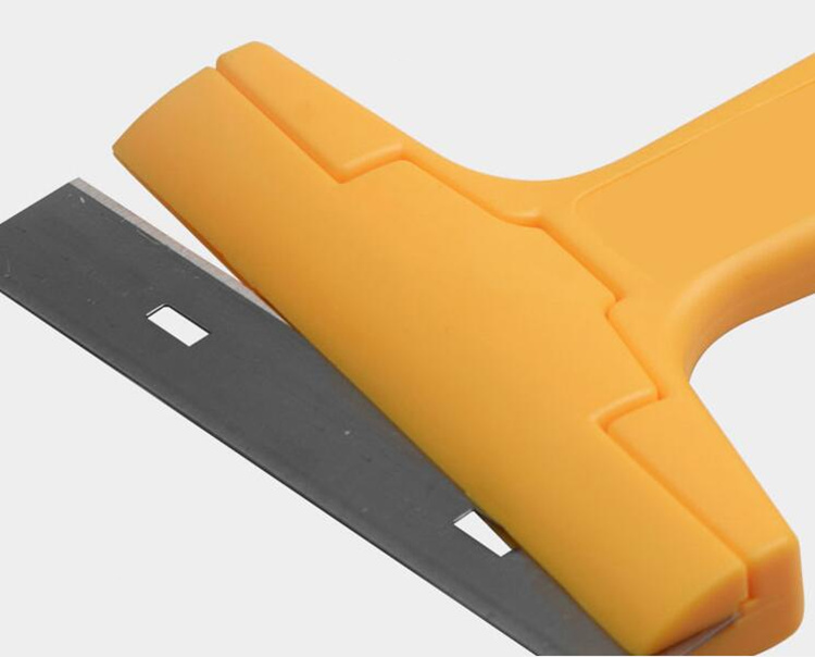 HTB1 bYOCACWBuNjy0Faq6xUlXXaf - Portable Handheld Scraper Squeegee Putty knife for Glass Floor Tiles Wall cleaning tool with 10pcs Carbon steel blade