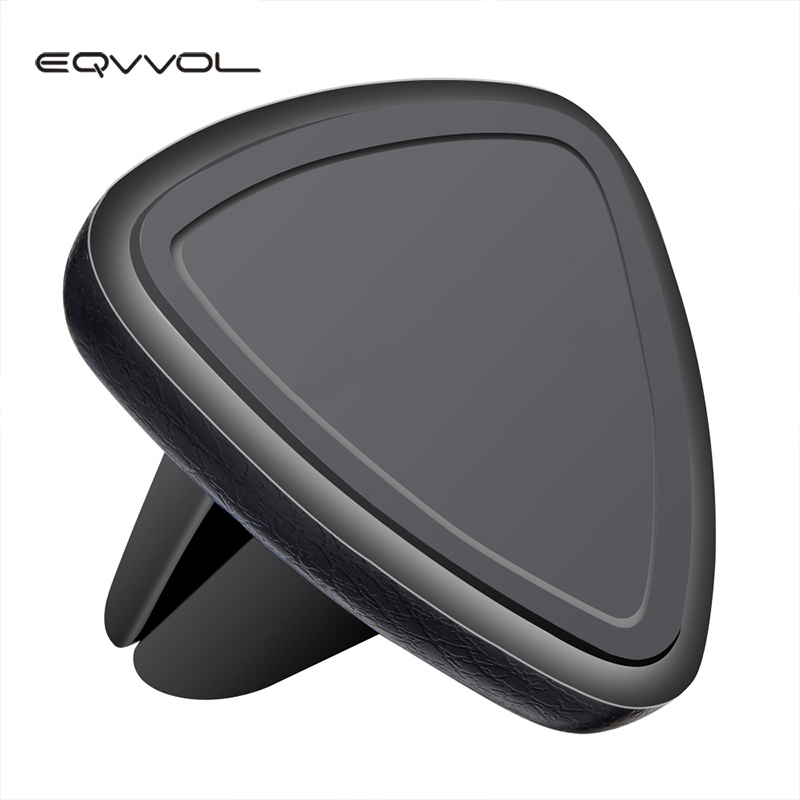 Eqvvol Universal 360 Degree Rotation Magnetic Car Phone Holder Air Vent Mount Magnet Smartphone Stand For Samsung For iPhone