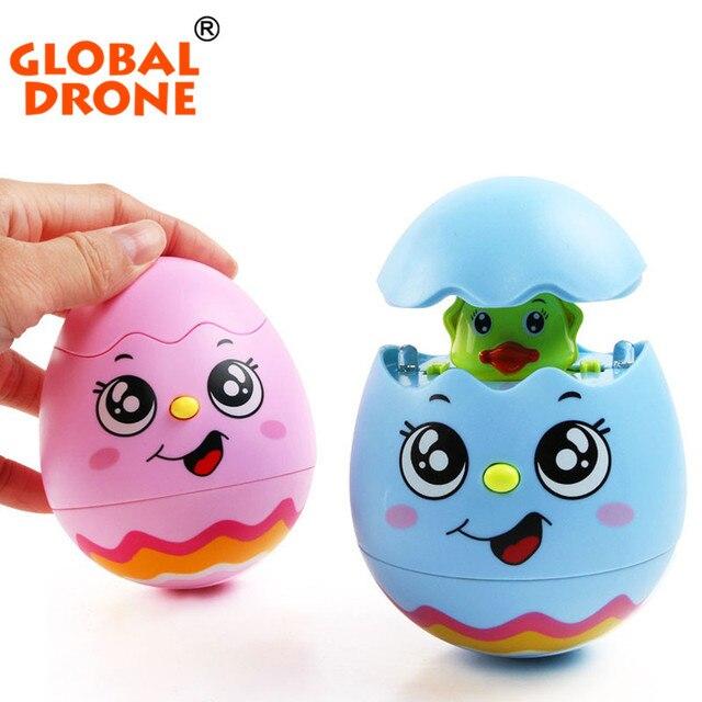 1pcs Tumbler Doll Shinnig Musical Rattles Toys For Newborns Baby Nursery Toys Christmas Toys For Toddler Children Toy Gift