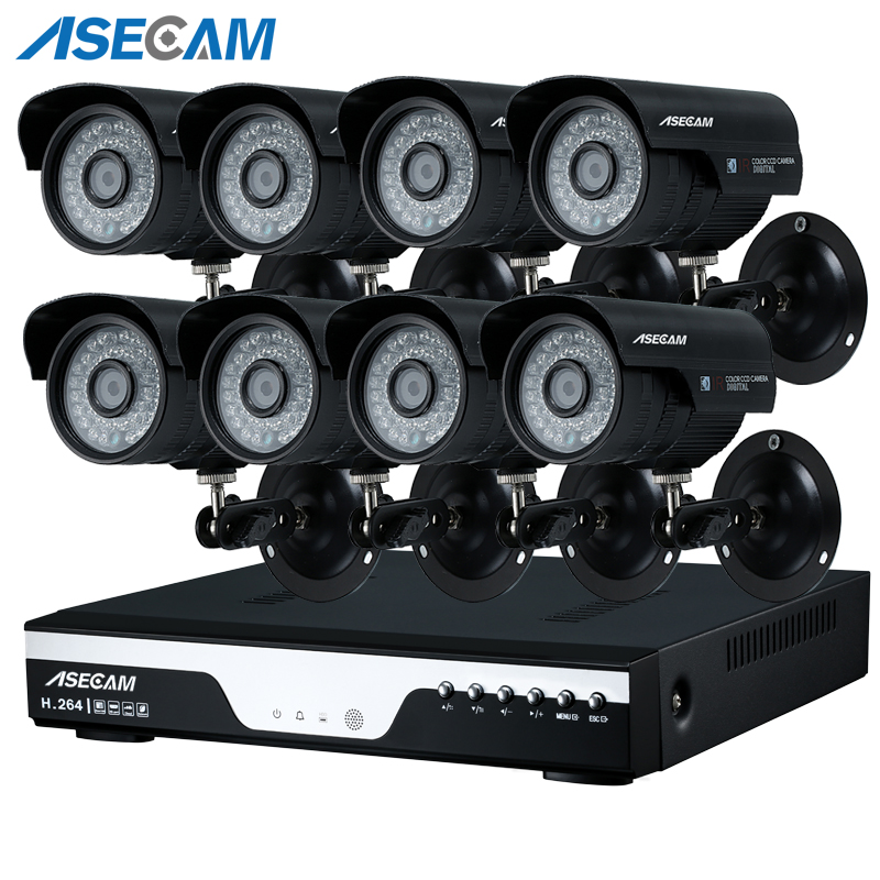 New 8ch Super 3mp HD CCTV DVR Video Recorder AHD Outdoor Black Bullet 1920p Security Camera System Kit Surveillance Email alertNew 8ch Super 3mp HD CCTV DVR Video Recorder AHD Outdoor Black Bullet 1920p Security Camera System Kit Surveillance Email alert