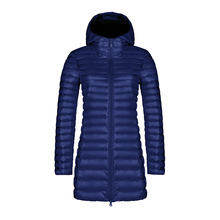 Winter Hooded Down Jacket Women Coat Elegant Warm Jacket Ultra Light 90% Duck Hood Down Parka Female XXXL Overcoat