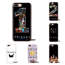 For Xiaomi Redmi 4A S2 Note 3 3S 4 4X 5 Plus 6 7 6A Pro Pocophone F1 Friends TV Funny Central Perk Soft Transparent Cases Covers(China)