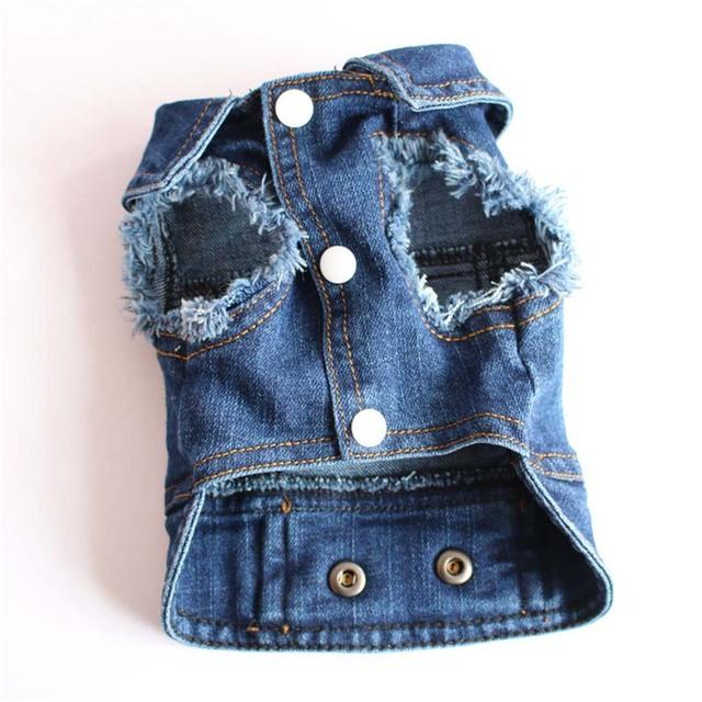 Pet Blue Jean Jacket XS-2XL