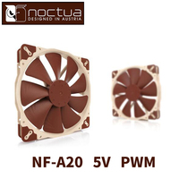 Noctua NF A20 5V PWM CPU or radiator cooling fans Computer Case CPU heat sink Cooler low noise Fan