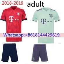 d704347285 Libre parches 2018 2019 Thai mejor calidad Bayernes Muniches adulto manga  corta Jersey de fútbol 18 19 hogar 3RD envío gratis