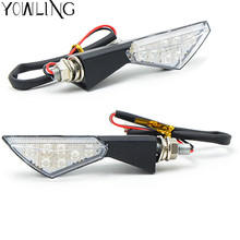 Motorcycle Turn Signal Light 12 LED Indicators Blinkers Flashers for BMW R1200GS ADVENTURE R1200R R1200S R1200ST S1000RR S1000R
