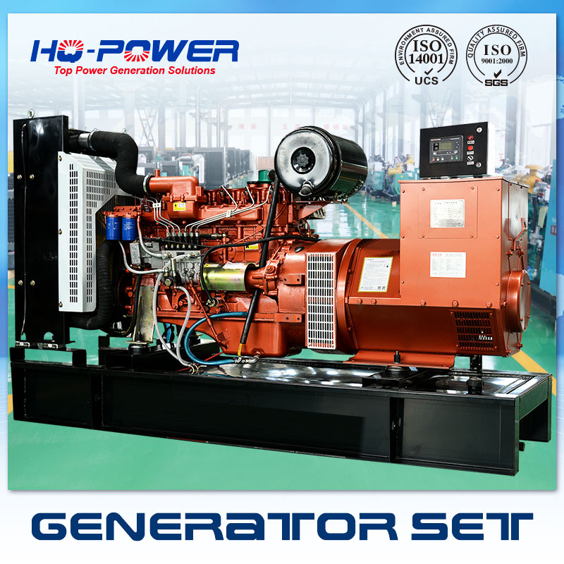 single phase generator 150kw with ricardo diesel engine