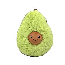 Christmas Cute Animals Avocado Plush Toys Stuffed Dolls Cushion Baby New Year Pillow For Kids Children Gift Bolster(China)