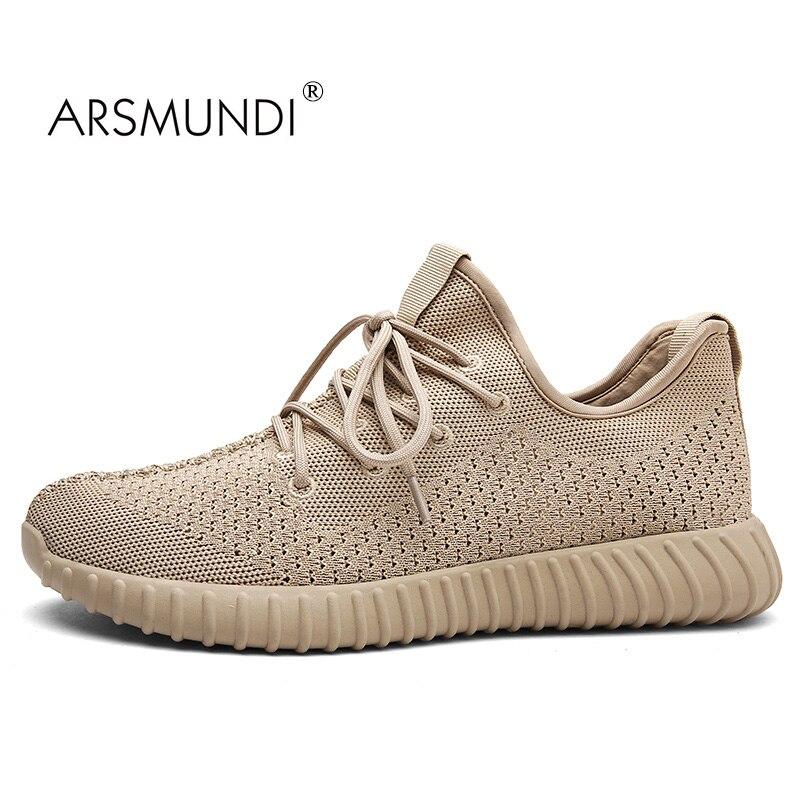 b0666d537 ARSMUNDI Original Men Running Shoes TX-8715 Super Speed Yeezy Shoes For Men  Air Mesh