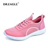 DR EAGLE Women Running Shoes Jogging Sneakers Ladies Spring Summer Sport Shoes Lightweight Walking Footwear Plus