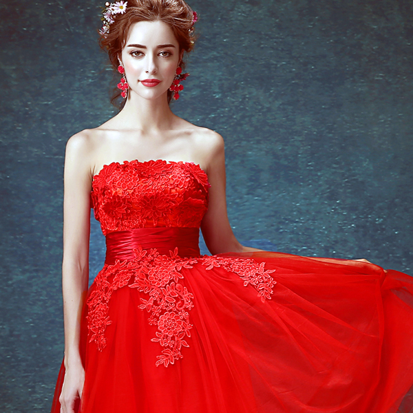 z 2016 new arrival stock maternity plus size bridal gown pregnant evening  dress short backless sexy Red Lace 2416 d3b86b275fb6