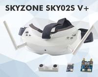 Skyzone SKY02S V 5 8G 40CH 3D FPV Goggles w VTX 3D Camera Head Tracking HDMI