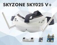 Nuevo Skyzone SKY02S V + 5,8G 40CH 3D FPV gafas con VTX, cámara 3D, seguimiento de cabeza, HDMI, DVR, función de búsqueda automática de canal 5,8 Ghz