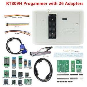 Image 5 - 100% oryginalny programator RT809H emmc nand niezwykle szybki uniwersalny programator + 35 przedmiotów + kabel Edid + ssanie pióra