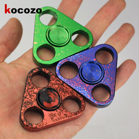 Hand Spinner Metal With Hole Fashion spinner 2017 Top Spinner Toy For Autism and ADHD Kid Gift Funny Finger Toys