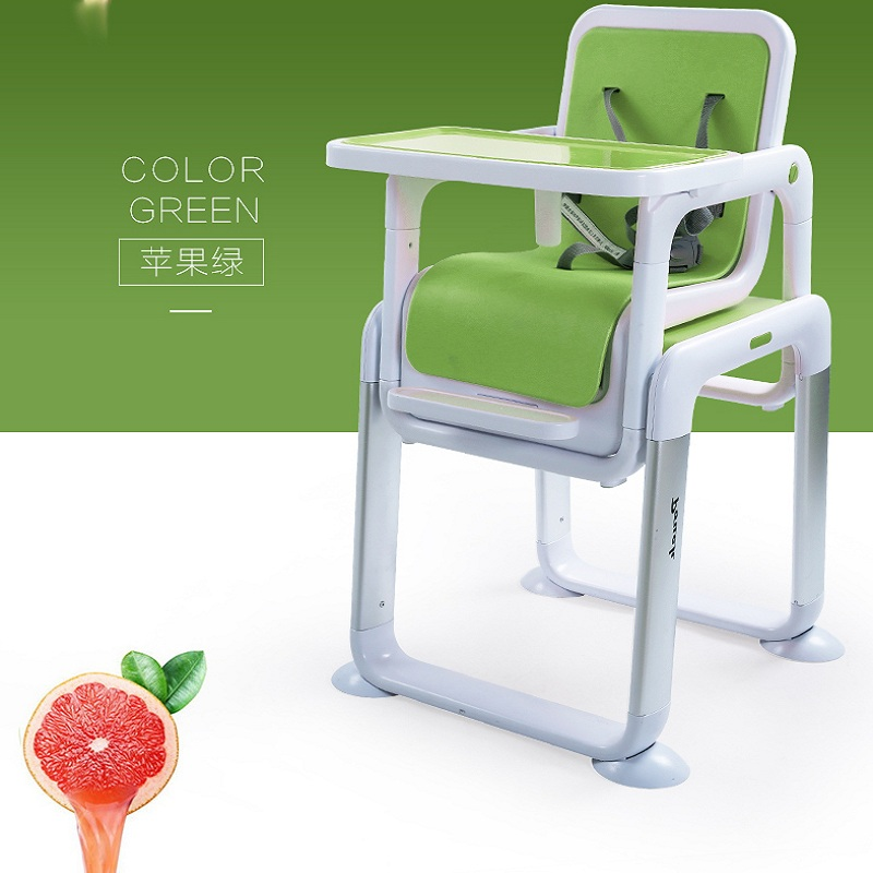 Separate baby dining table and chair feeding chair Child multi-purpose portable metal seat learning tables and chairs dining chair child baby the design concept of high landscape equipp with feeding bottle water cup holder infant playing chair