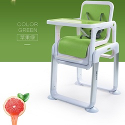 Separate baby dining table and chair feeding chair child multi purpose portable metal seat learning tables.jpg 250x250