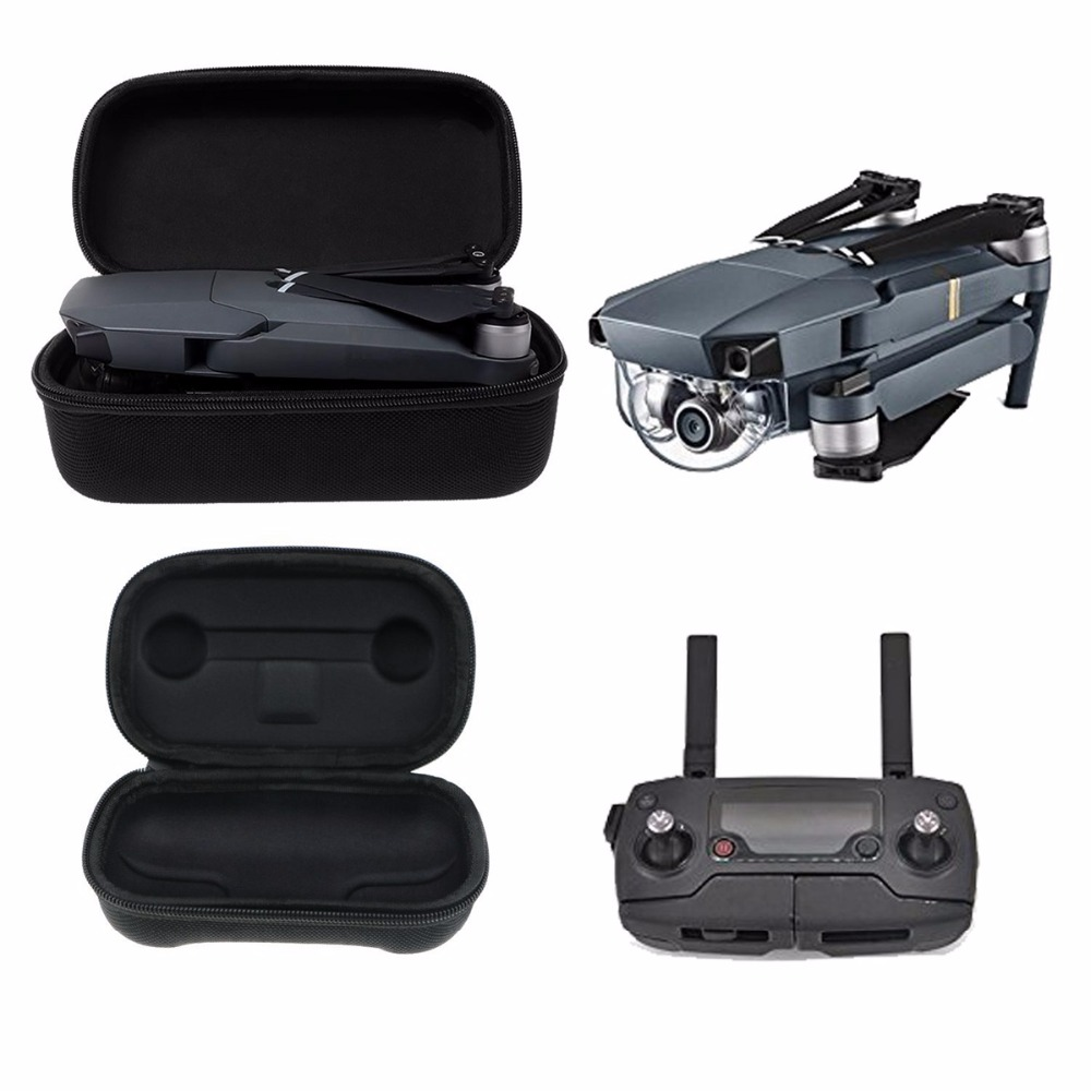 2 in 1 Storage Bags Travel Carrying Case Protection Box Hard Shell Box for DJI font