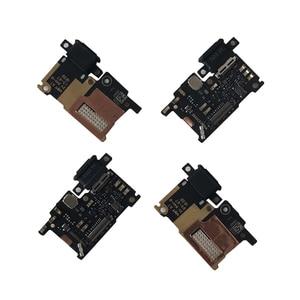 Image 2 - Ban Đầu M & Sen Cho Xiaomi 6 Mi 6 Mi6 M6 Sạc Nhanh Dock Sạc Cổng Kết Nối Cổng Ban Micro Flex cáp USB Với Ngón Tay Mở Khóa
