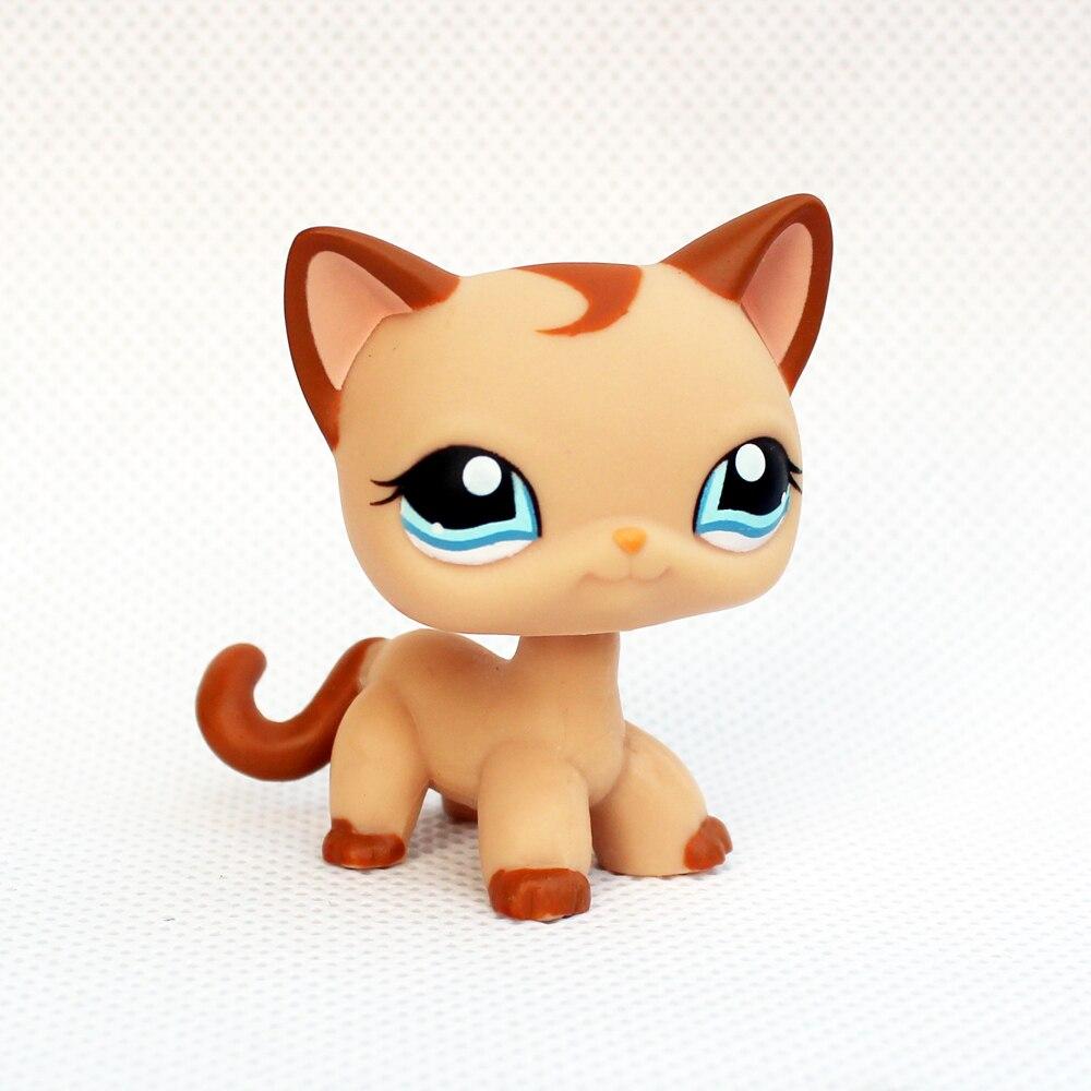 font b pet b font shop lps toys 1024 light brown standing short hair cat