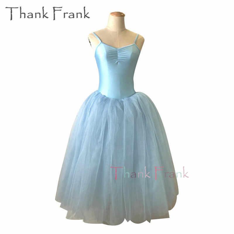 b117db8e3 Camisole Long Tutu Ballet Dress Girls Women Romantic Dance Dresses C428