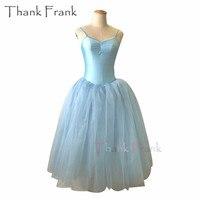 Camisole Long Tutu Ballet Dress Girls Women Romantic Dance Dresses C428