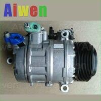 OE оригинальный компрессор переменного тока r134a автомобили мини кондиционер для автомобиля 7SBU17CBMWF10 520i 540i 64529165808 4472602994