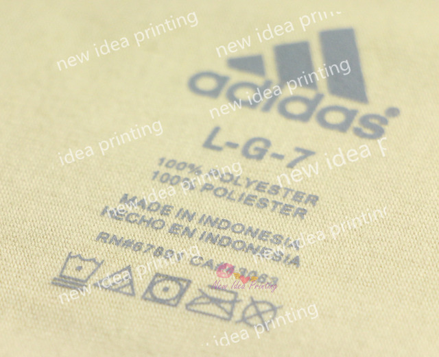 10000 free express one color tagless transparent for Heat transfer labels for t shirts
