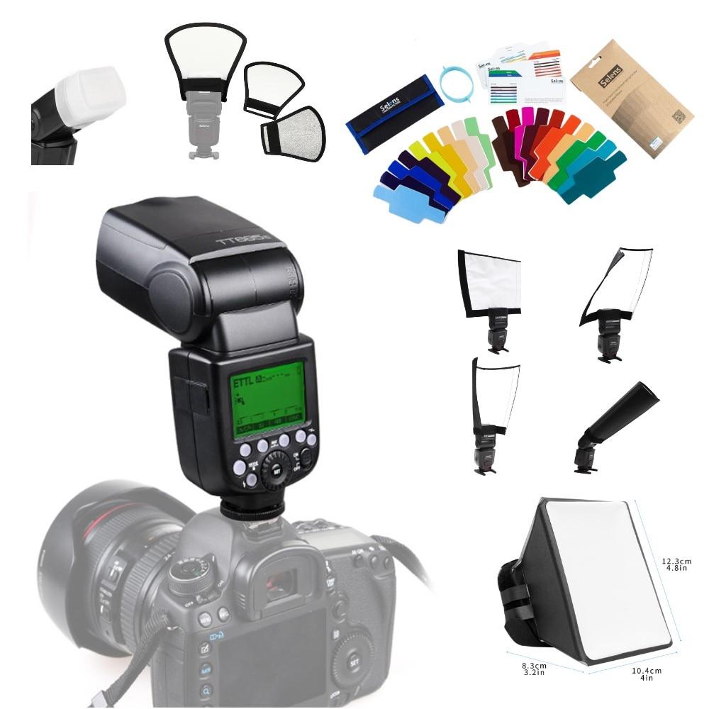 Godox TT685 TT685C TT685N TT685S TT685F TT685O Flash TTL HSS Camera Flash speedlite for Canon Nikon