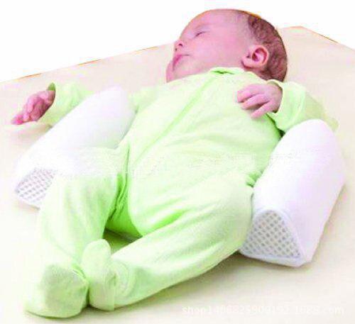 Baby Pillow Newborn Comfortable Cotton Anti Roll Pillow Lovely Baby Toddler Safe Cartoon Sleep Head Positioner Anti-rollover