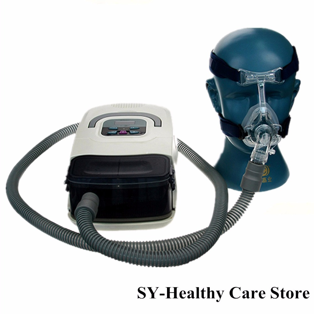 Auto potable CPAP Machine Smart Home Ventilator For Sleep Snoring Apnea Humidifier Mask Hose SD Card Free Shipping Respirator 2016 auto cpap machine for sleep apnea or osahs or osas or snoring people first sale on aliexpress free shipping