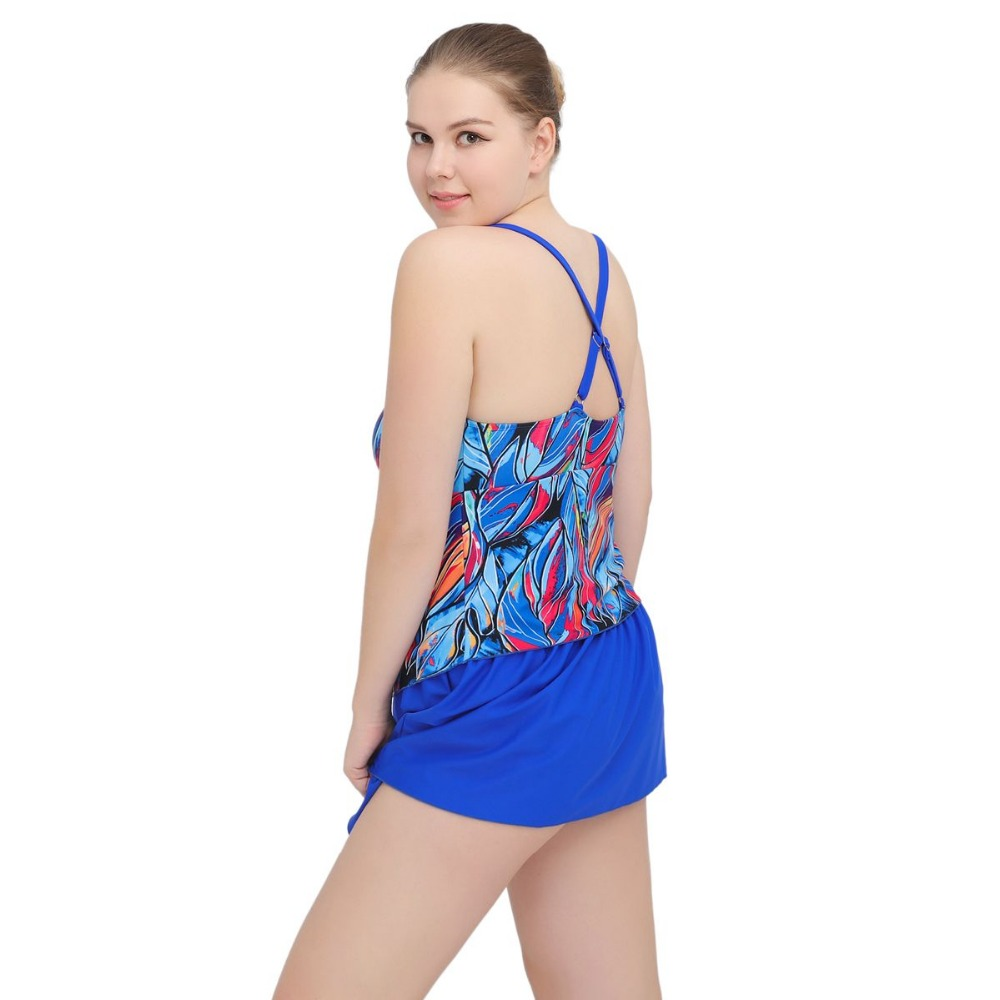 0d3a8dc4e940d 2017 Women Summer Dress One Piece Swimsuits Big Women Extra Large Size  Swimwear Big Girl Swimwear Dress Cover Ups Plus Size 1605-in Body Suits  from Sports ...