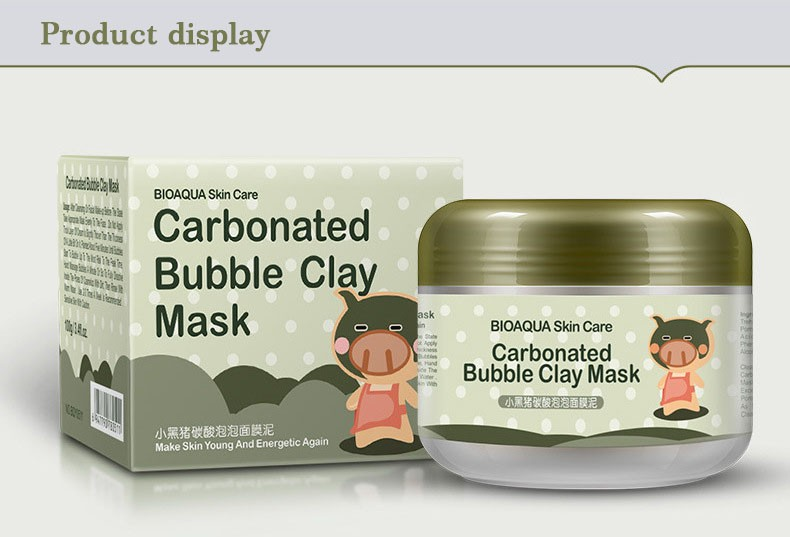 BIOAQUA Carbonated Bubble Clay Mask Mask for the Face Moisturizing Whitening Anti-Aging Acne Treatment Hyaluronic Acid Face Mask HTB1 bdgnmMmBKNjSZTEq6ysKpXaf