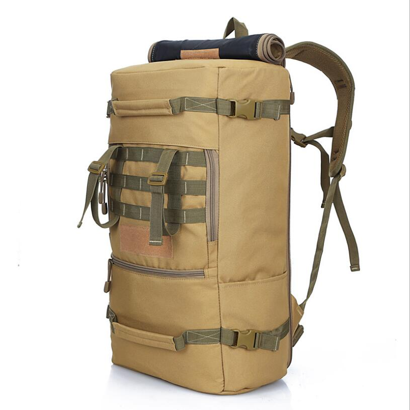 Outdoor Bags Mens Hiking Rucksack Travel Camping Backpack Hot Quality 50L New Military Tactical Backpack Mountaineering bagOutdoor Bags Mens Hiking Rucksack Travel Camping Backpack Hot Quality 50L New Military Tactical Backpack Mountaineering bag