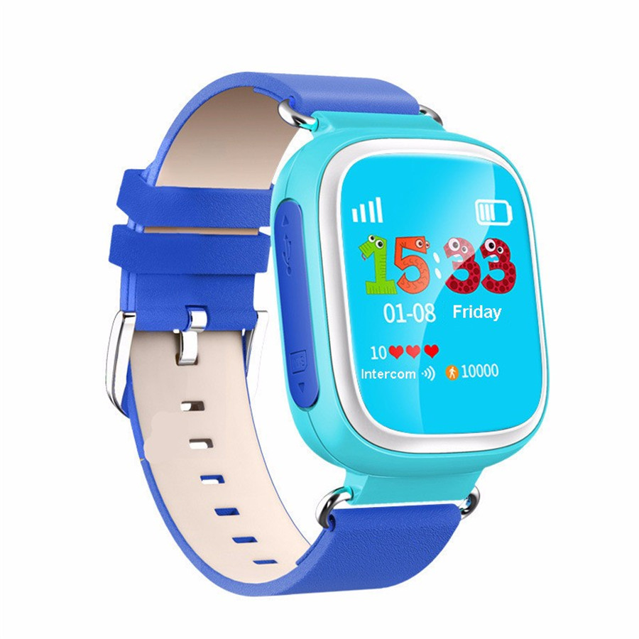 Orijinal Q80 GPS Tracker Akıllı İzle Saatler SOS Çağrı Konumu Cihazı IOS Android PK Q60 Tracker Kid Için Güvenli Anti Kayıp Q90