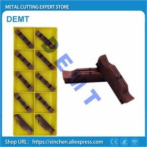Image 2 - Lame en alliage dur en acier inoxydable, Inserts de meulage en carbure MGGN150/MGGN200/MGGN250/MGGN300/MGGN400