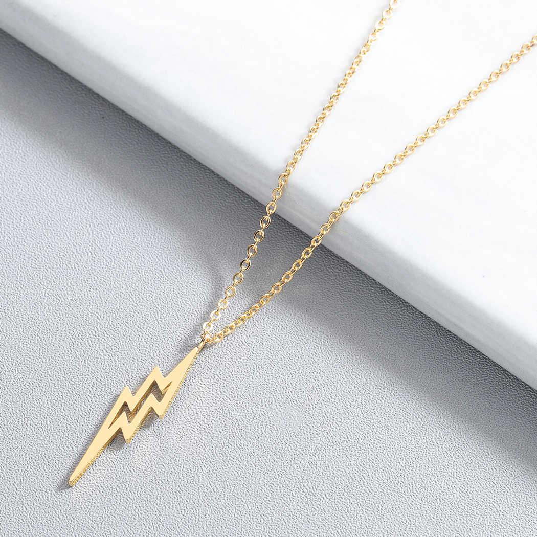 الرعد الترباس الإضاءة قلادة النساء الرجال المجوهرات الفولاذ المقاوم للصدأ خمر قلادة التبت قلادة الموضة هدية عيد ميلاد كولير