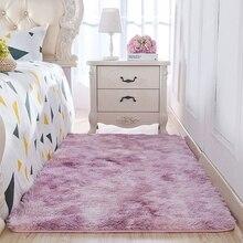 Напольный ковер для спальни, коврики для гостиной и дивана, длинный напольный ковер для чайного столика, ковер для комнаты для девочек, Цветной ковер декоративный галстук, татами