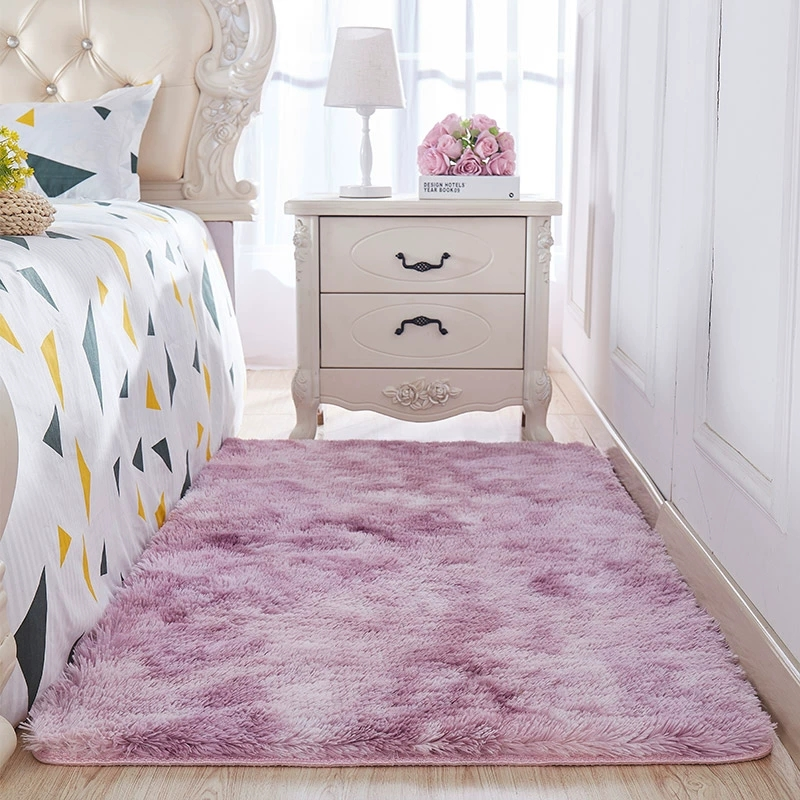 Bedroom Floor Rug Living Room Sofa Area Rugs Long Size Tea Table Floor Mat Girls Room Decor Tie-dyed Color Carpet Tatami Tapetes