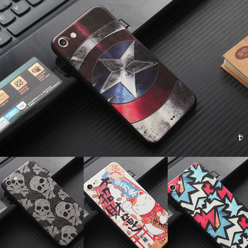 The Marvel Spiderman 3D Embossing Stereo Relief Painting Coque case for iPhone 5 SE 6 6s 7 7 Plus Soft Silicon Cases Cover coque чехлы марвел