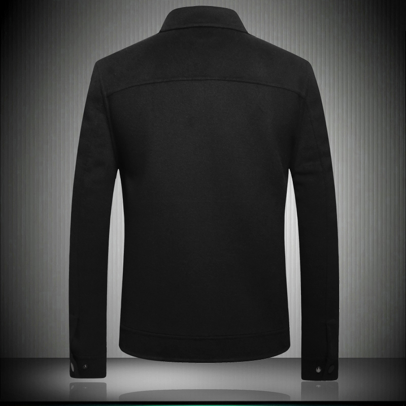 Manteau Nouvelle Arrivée khaki D'hiver 2018 Haute 8065 Black Laine Hiver Automne Et Batmo Qualité Hommes Hommes Vestes De 5nPTqwRx