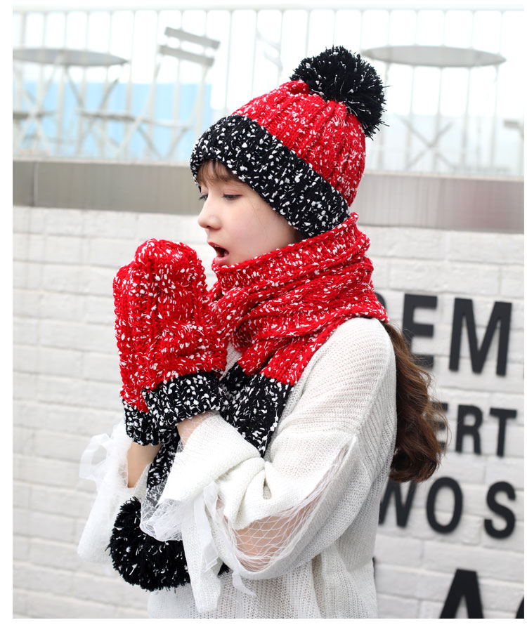 at and scarf set hat and scarf women\`s knitted hat and scarf for women Hat & Glove Sets hat and scarf set winter hat and scarf sets (6)