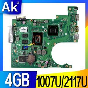 X200CA For Asus X200CA X200CAP Laptop Motherboard 1007U/2117U CPU 4GB MEMORY motherboard REV2.1 100% Test WORK