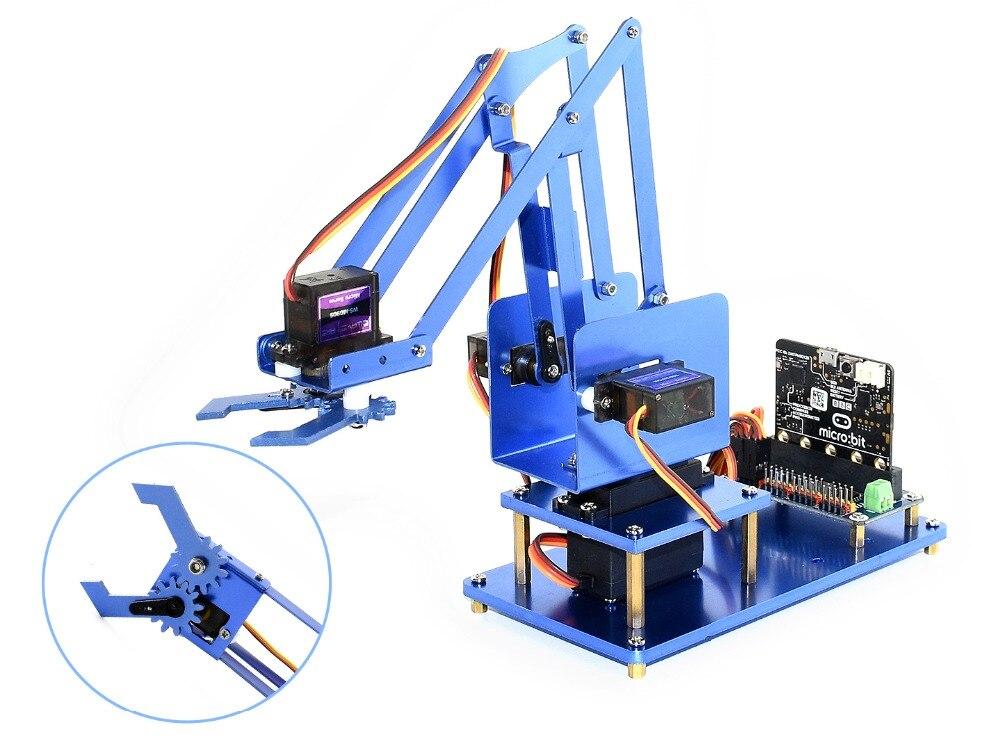 Waveshare 4-DOF Metal Robot Arm Kit para